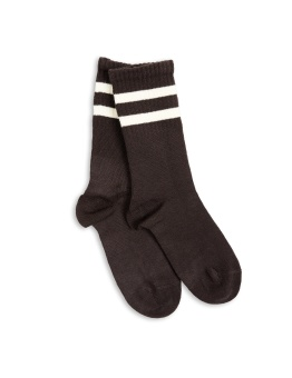 Stripe Sock Brown